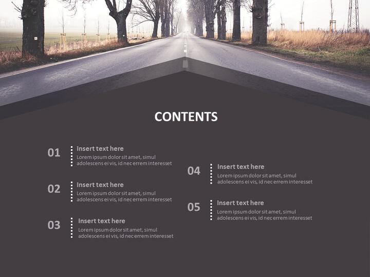 안개가 자욱한 날에도 - 무료 Google 슬라이드 배경_02