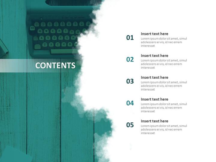 타이프라이터 - Google 슬라이드 이미지 무료 다운로드_02