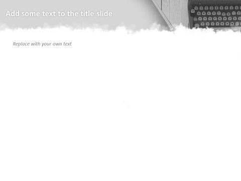 타이프라이터 - Google 슬라이드 이미지 무료 다운로드_03