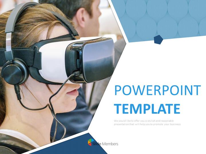 VR 가상 현실 - Google 슬라이드 이미지 무료 다운로드_01