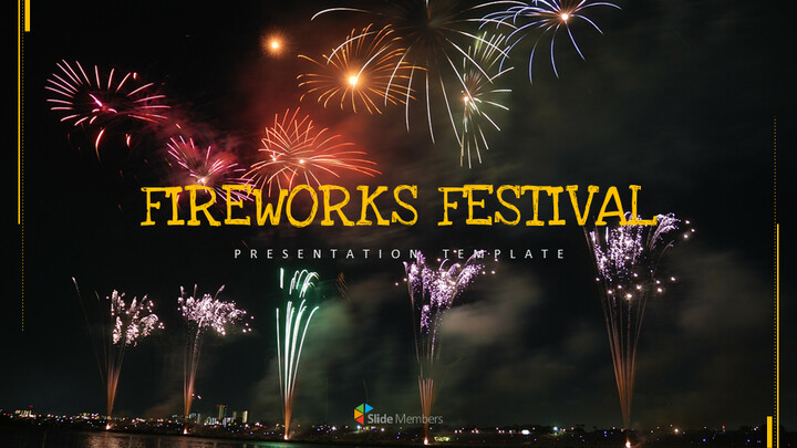 Fireworks Festival Simple Google Slides Templates_01