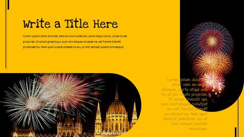 Fireworks Festival Simple Google Slides Templates_02