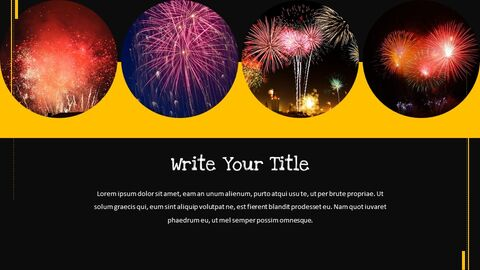 Fireworks Festival Simple Google Slides Templates_03