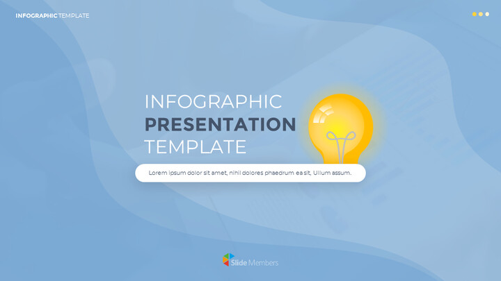 Infographic Flat Design Template Custom Google Slides_01