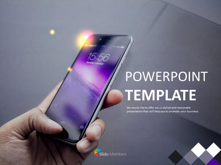 아이폰 - 무료 피피티 템플릿_01