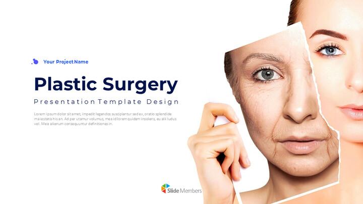성형 수술 편집이 쉬운 슬라이드 디자인_01