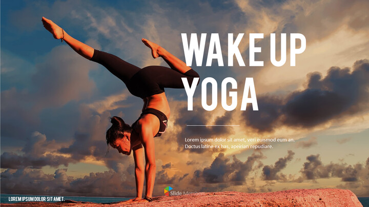 Wake Up Yoga Business Presentation PPT_01