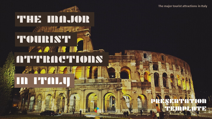 The Major Tourist Attractions In Italy Google Presentation Templates_01