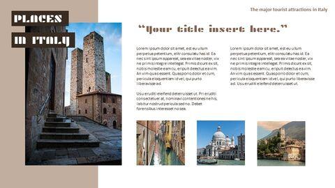 이탈리아의 주요 관광 명소 Google 프레젠테이션 템플릿_03