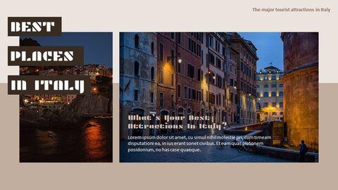 이탈리아의 주요 관광 명소 Google 프레젠테이션 템플릿_04