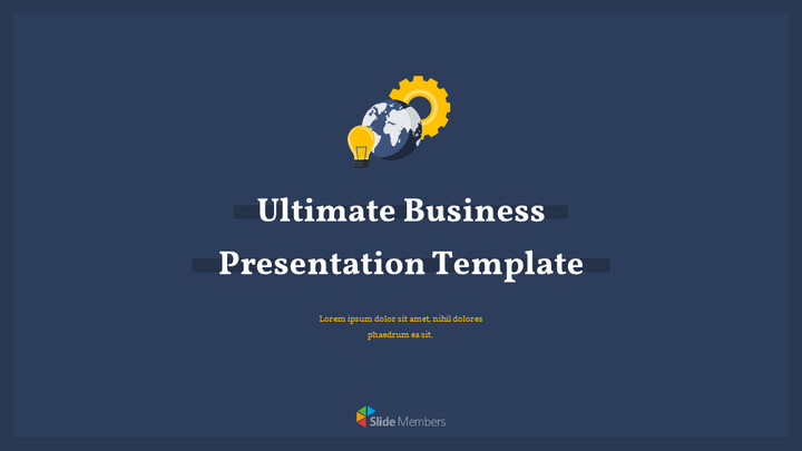 Ultimate Business Simple Template Simple Google Slides_01