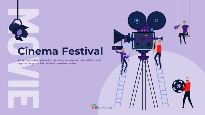 Cinema Festival Simple Slides Design_01