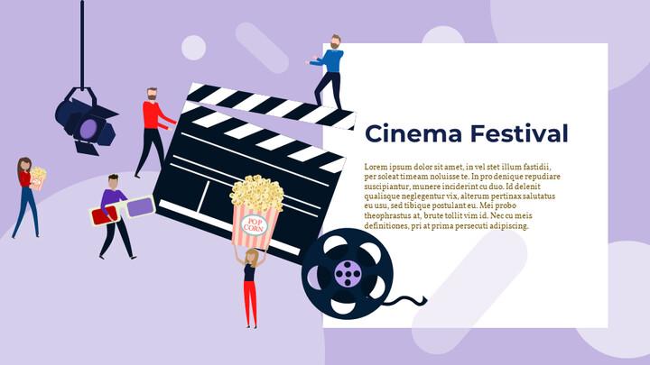 Cinema Festival Simple Slides Design_02