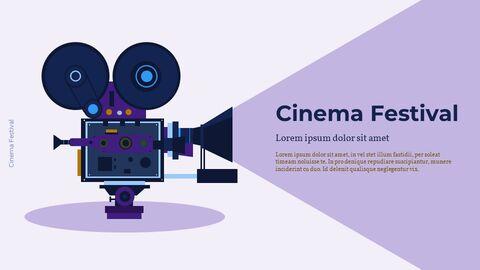 Cinema Festival Simple Slides Design_10