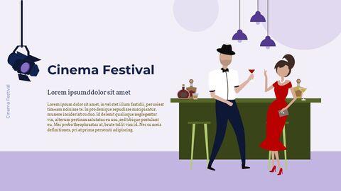 Cinema Festival Simple Slides Design_19