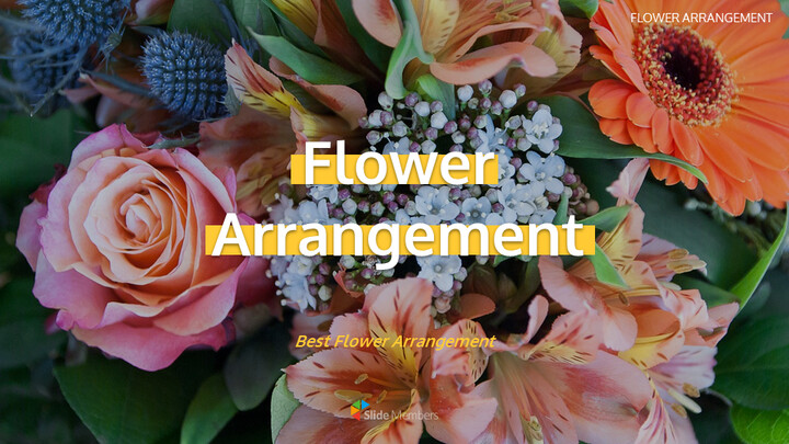 Flower Arrangement Easy Google Slides_01