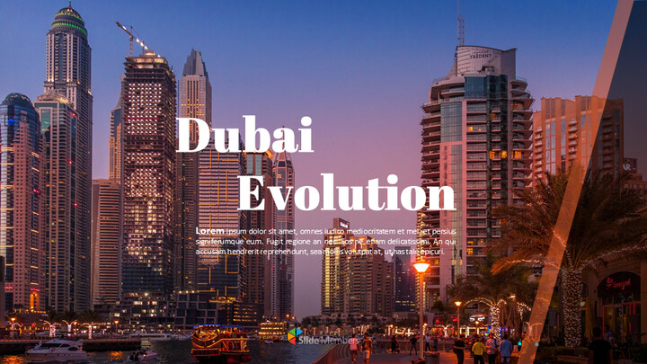 Dubai Evolution Google Slides for mac_01