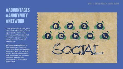 소셜 미디어 심플한 Google 프레젠테이션_04
