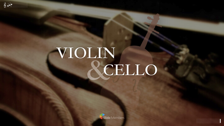 Violin & Cello Keynote Presentation Template_01