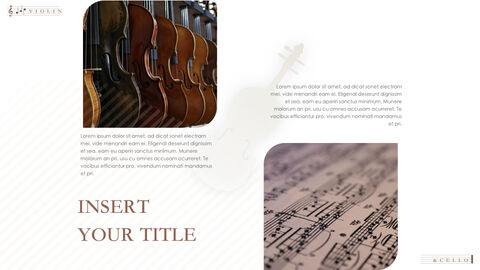 바이올린과 첼로 키노트 프레젠테이션 템플릿_11