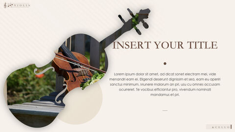 Violin & Cello Keynote Presentation Template_04