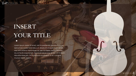 Violin & Cello Keynote Presentation Template_05