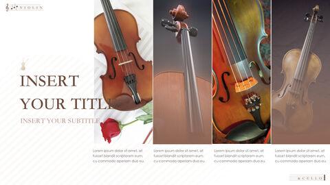 바이올린과 첼로 키노트 프레젠테이션 템플릿_28