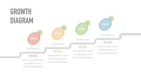 summer pineapple & watermelon Simple Keynote Template_06