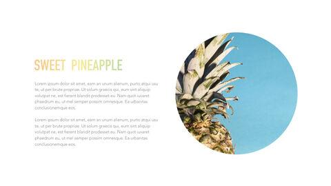 summer pineapple & watermelon Simple Keynote Template_08