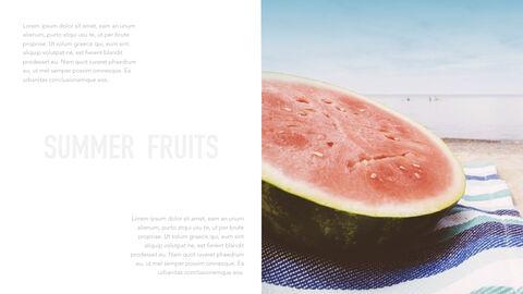 summer pineapple & watermelon Simple Keynote Template_11