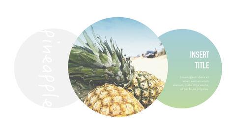 summer pineapple & watermelon Simple Keynote Template_12