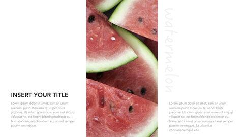 summer pineapple & watermelon Simple Keynote Template_13