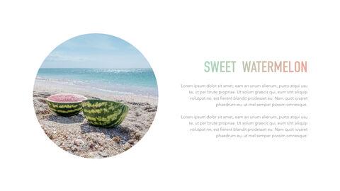 summer pineapple & watermelon Simple Keynote Template_14