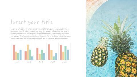summer pineapple & watermelon Simple Keynote Template_18
