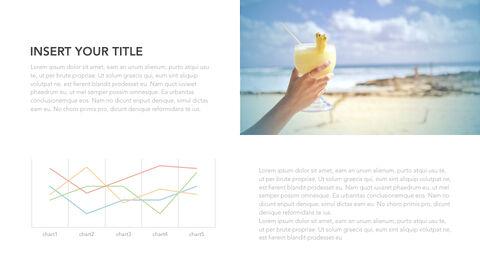 summer pineapple & watermelon Simple Keynote Template_22