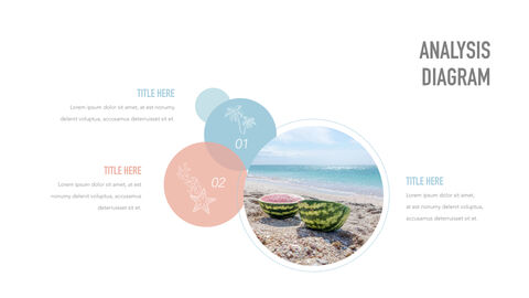 summer pineapple & watermelon Simple Keynote Template_37