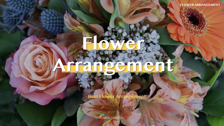 Flower Arrangement Best Keynote_01