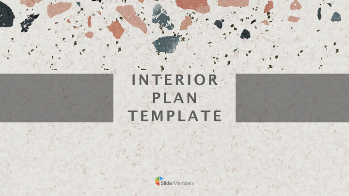 Interior Plan Template Theme Keynote Design_01
