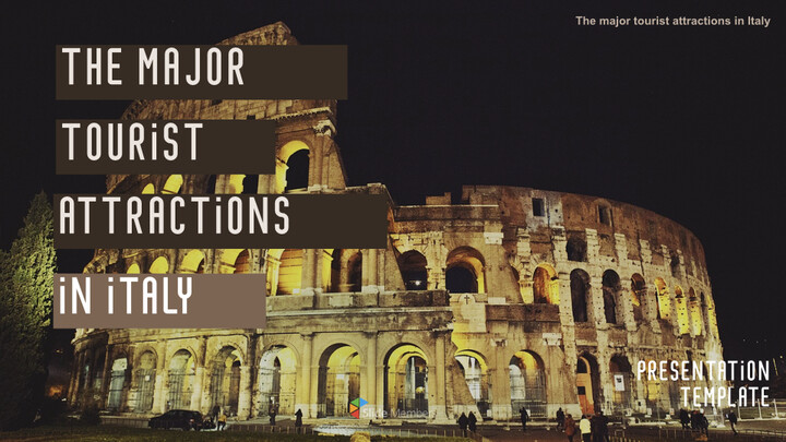 The Major Tourist Attractions In Italy Best Keynote_01