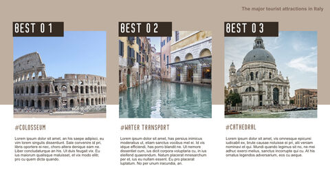 The Major Tourist Attractions In Italy Best Keynote_03