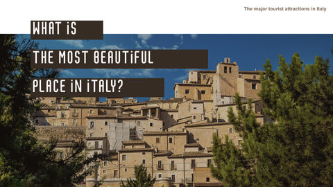 The Major Tourist Attractions In Italy Best Keynote_05