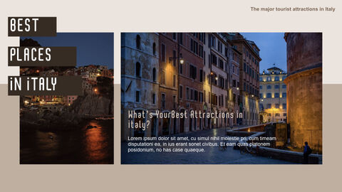 The Major Tourist Attractions In Italy Best Keynote_09