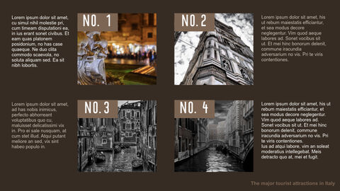 The Major Tourist Attractions In Italy Best Keynote_14
