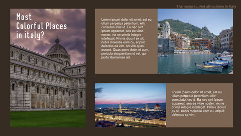 The Major Tourist Attractions In Italy Best Keynote_25