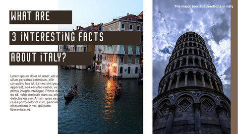 The Major Tourist Attractions In Italy Best Keynote_31