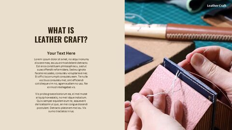 What Is The Best Leather Crafting Custom Google Slides_02