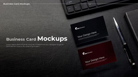 Business Card Mockups Google Slides for mac_03