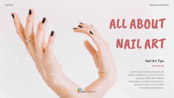 All About Nail Art Google Slides to PowerPoint_01