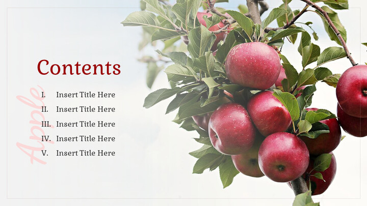 사과 과수원 Google 슬라이드 프레젠테이션 템플릿_02