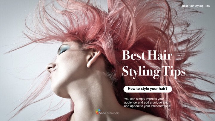 Best Hair Styling Tips Theme Keynote Design_01